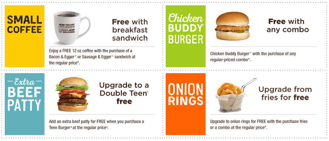A&W Canada Coupons: FREE Coffee, FREE Chicken Buddy Burger, FREE Upgrade to Onion Rings & More Offers