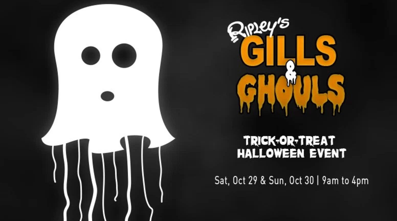 Ripley's Aquarium of Canada Gills & Ghouls Halloween Event this Saturday & Sunday!