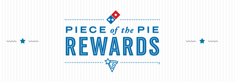 Domino's Pizza Rewards Program Promotions: FREE Medium 2-Topping Pizza When You Earn 60 Points