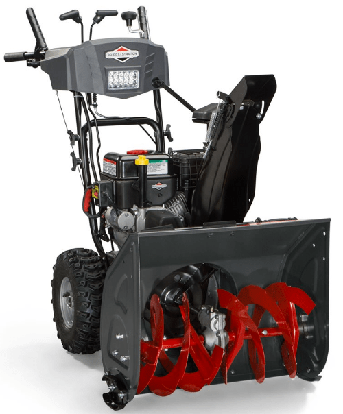 Lowe's Canada Offers: Save $300 Off Briggs & Stratton 24-in Two-Stage Gas Snow Blower + an Extra 15% off with Promo Code