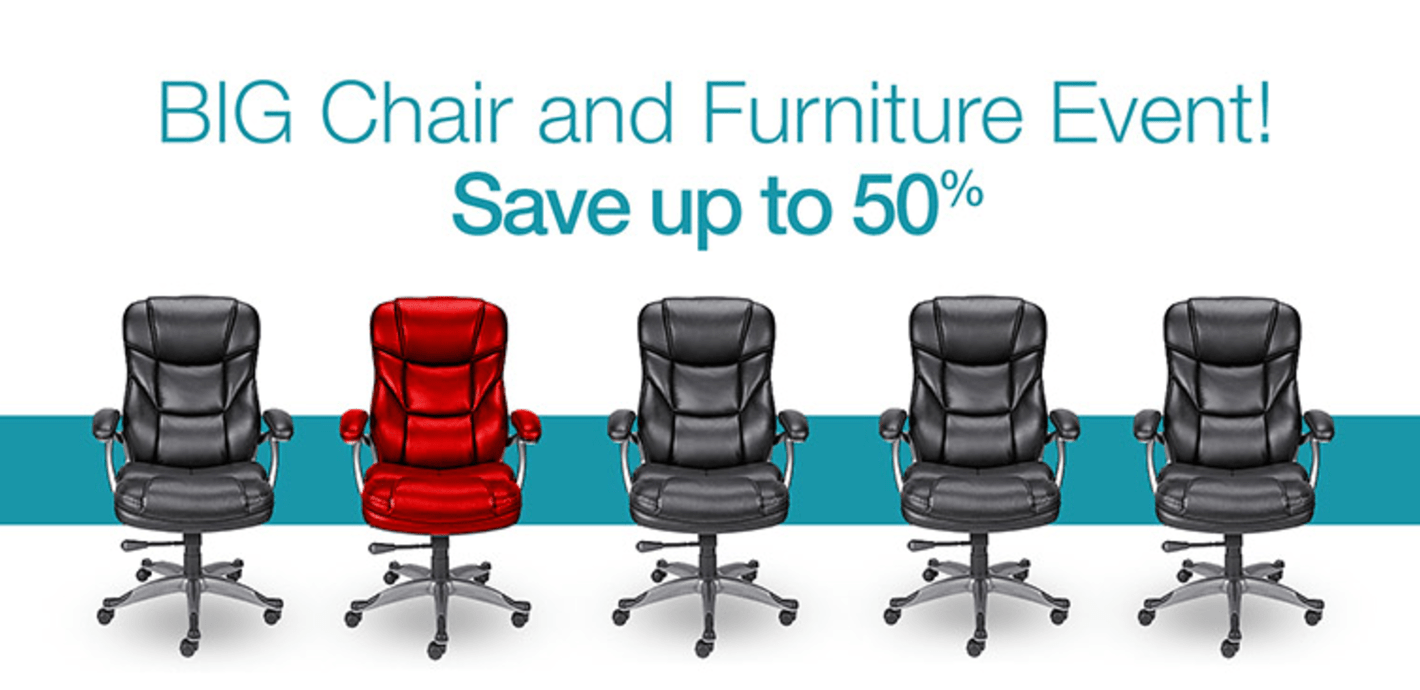 Staples Canada Deals: Save Up to 50% Off Chairs & Furniture + Up to 30% Off Safety Workwear & Footwear + More!