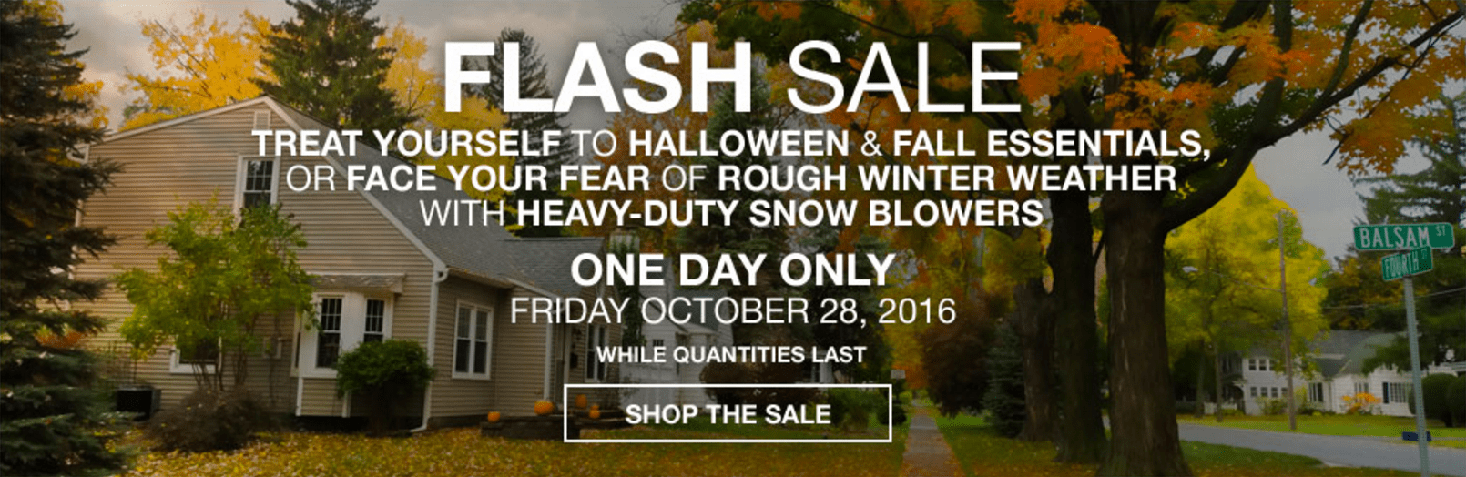 Lowe's Canada Flash Sale: Save 50% On Halloween Decor, Extra 20%% On Select Grills and Outdoor Heat & More Offers