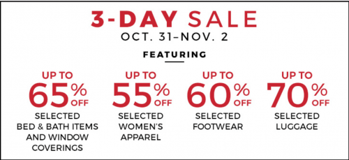 Sears Canada Flash Sale: Save Up to 65% Off Apparel and Home Items