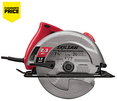 Lowe's Canada Offers: Save 38% on Skil 12 Amp 7-1/4-in Circular Skilsaw
