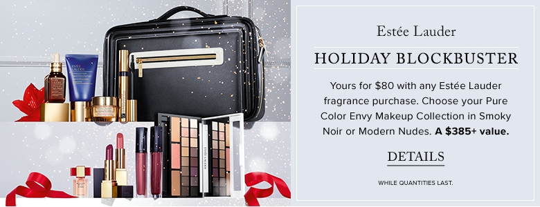 Hudson's Bay Canada Promotions: Estée Lauder Holiday Blockbuster for Only $80 ($385 Value) with Any Fragrance Purchase and FREE Shipping