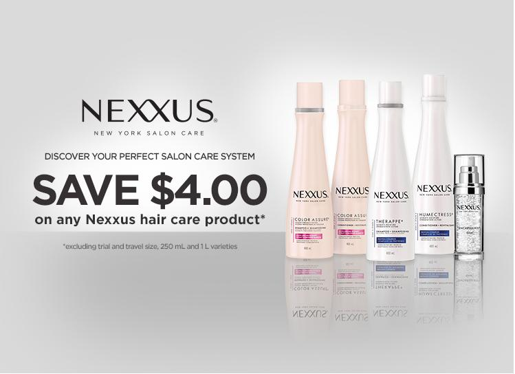 Walmart Canada Coupons: Save $4 on Nexxus Hair Care