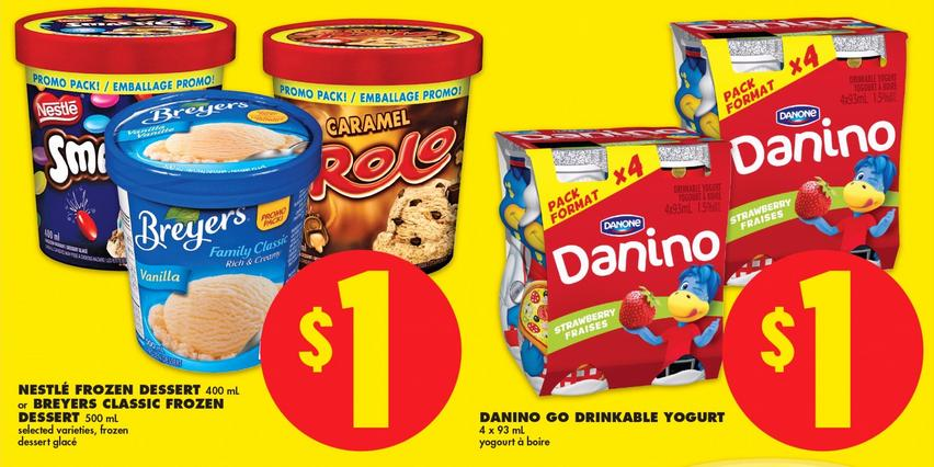 No Frills Ontario: Free Danone Danino After Coupon