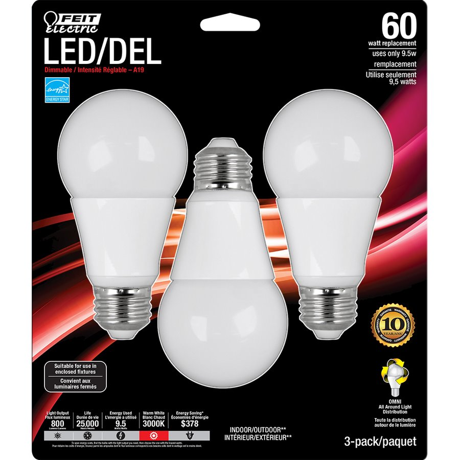 lowes led bulbs feit