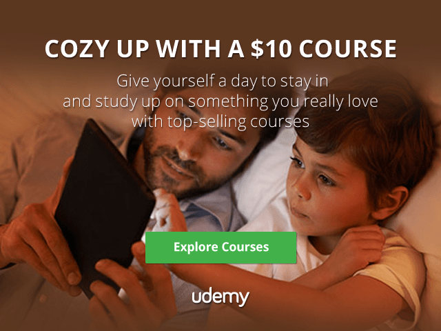 Udemy Canada Deal: All Courses Sitewide for Only $10 Using Promo Code!