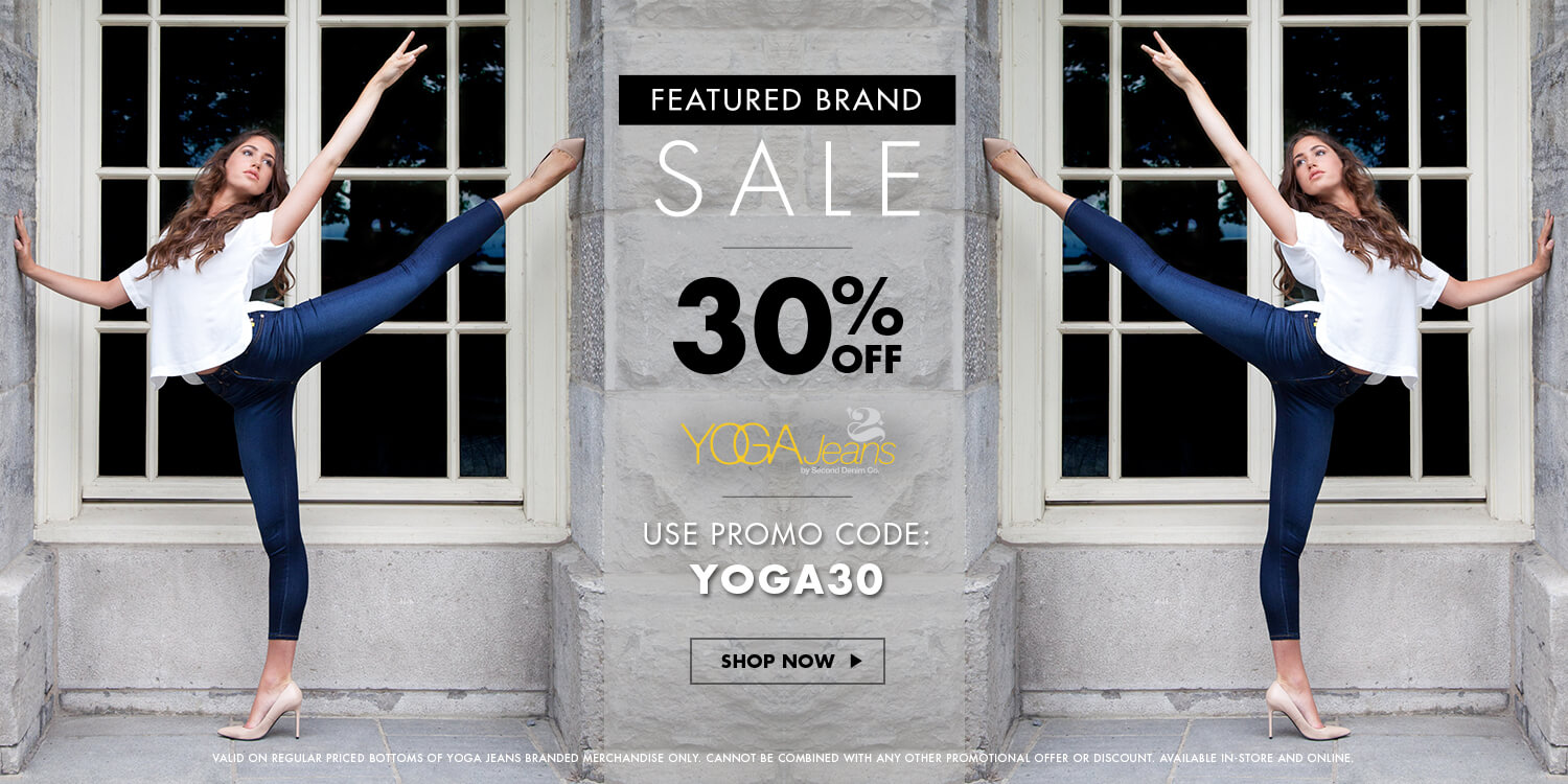 Jean Machine Canada Deal: Save 30% off Yoga Jeans Using Promo Code