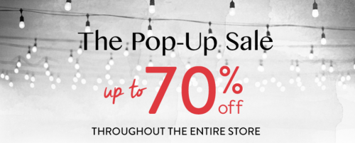 Bench Canada Pop-Up Sale: Save Up to 70% Off Sitewide + Buy 1, Get 1 FREE on Sale Items & Winter Accessories + More!