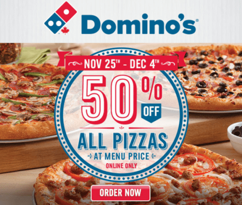 Everyday Value Offer. Avail Domino's Everyday Value Offers and get 2 Regular Pizzas starting at Rs each or get 2 Medium Pizzas starting at Rs each. View all the Everyday Value Offers & Pizza Deals below. T & C apply. Terms & Conditions: No Coupon codes are required for this offer. Offer applicable on selected items.