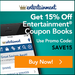 Entertainment Book Canada Sale: Save 15% Off All 2017 Books & Annual Digital Membership + Free Shipping!