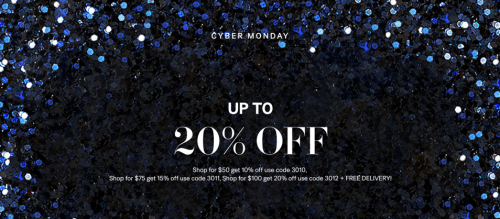H&M Canada Cyber Monday Sale: Save Up to 20% Off with Promo Codes + FREE Shipping