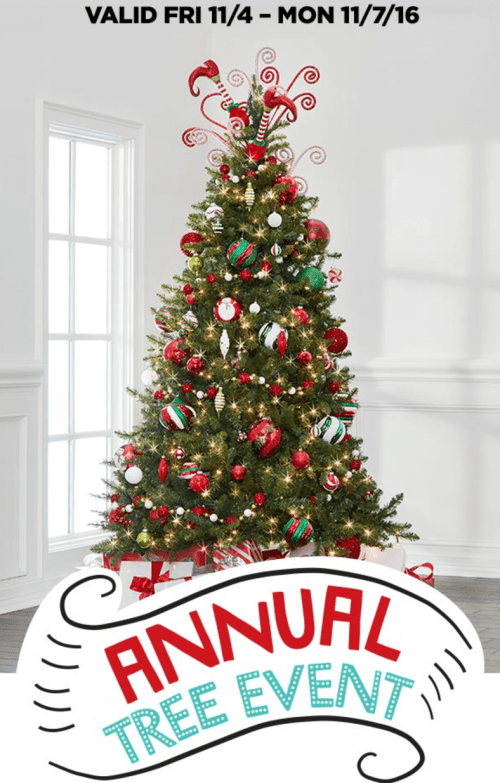Michaels Canada Weekly Coupons, Annual Christmas Tree Event Sale & Weekly Flyers: Save 50% off 1 Regular Price Item & More