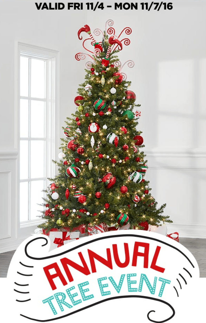 michaels weekly coupons annual christmas tree event michaels annual christmas tree event at smartcanucks ca offers