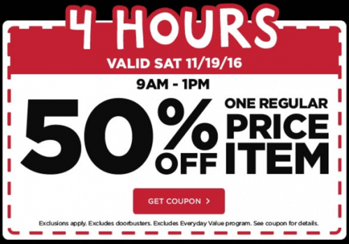 Michaels Canada Pre Black Friday Coupons: Save 50% Off One Regular Price Item & More + Christmas Flyer's Doorbusters Deals 70% Off!