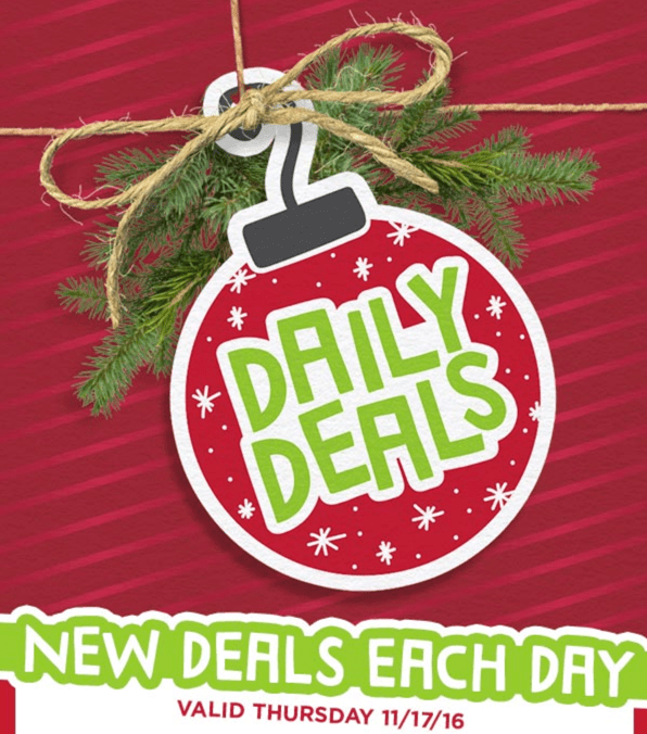 michaels canada pre black friday 1 day deals save 175 off 7 ft pre lit willow pine tree just. Black Bedroom Furniture Sets. Home Design Ideas
