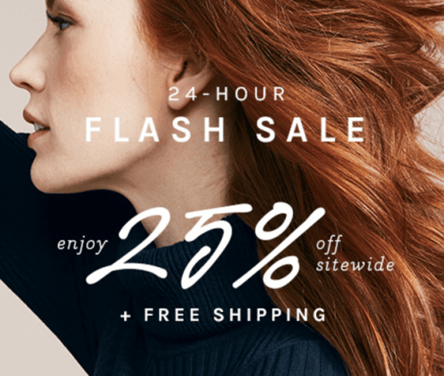 Naturalizer Canada Flash Sale: Save 25% Off Everything Sitewide + FREE Shipping for All Orders with Promo Code, Today!