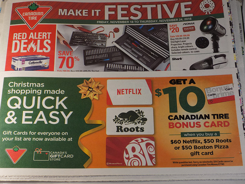SC - Canadian Tire Gift Card Offer
