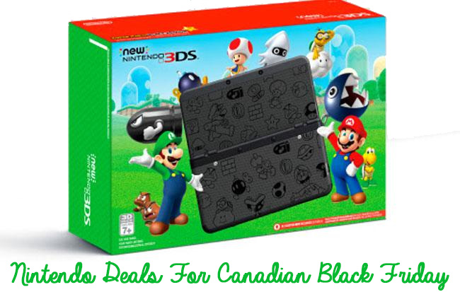 SCBF - 2016 Black Friday Deals on Nintendo - NES - 3DSXL - Switch - SmartCanucks