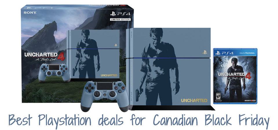 SCBF - 2016 Black Friday Deals on Playstation Canada - PS4 - PS Vita - PSP - SmartCanucks