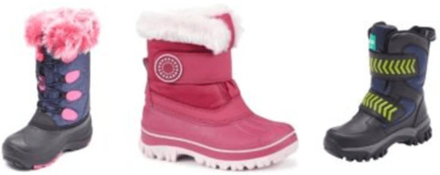 Sears Canada 3-Days Sale: Save 50% Off Select Girl's & Boy's Winter Boots & More Offers
