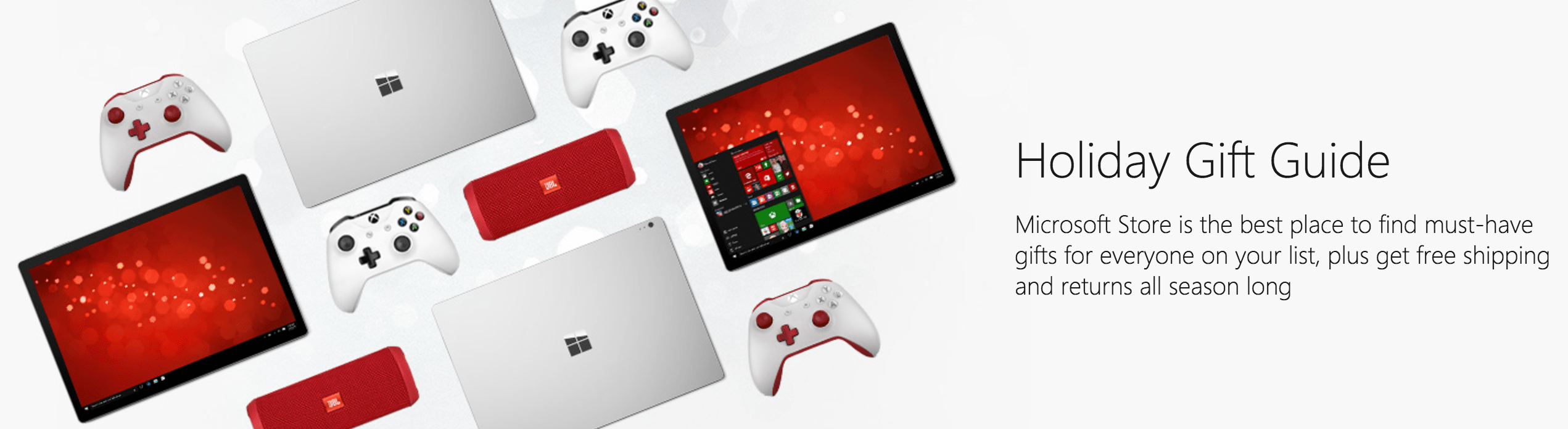 Microsoft Canada Holiday Gifts Savings: Xbox Game Deals + Gifts Under $100 + Save $129 Off Surface Pro 4 Bundle + FREE Shipping