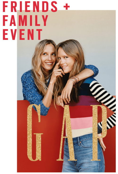 Gap Canada Friends & Family Sale: Save 40% Off Everything + FREE Shipping On All Orders!