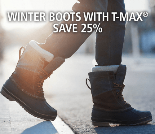 Mark's Canada Sale: Save 25% Off Winter Boots and Accessories With T-Max + 50% Off Jeans + More
