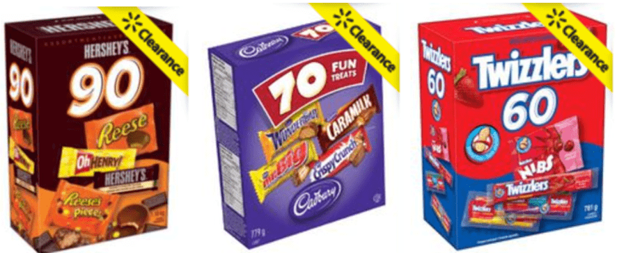 Walmart Canada Halloween Candy Clearance Sale: Save 50% On Halloween Candy