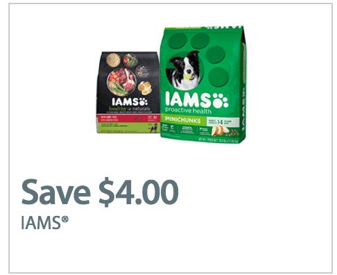 Walmart Canada New Coupons: Save $4.00 Off Iams Dry Dog Food