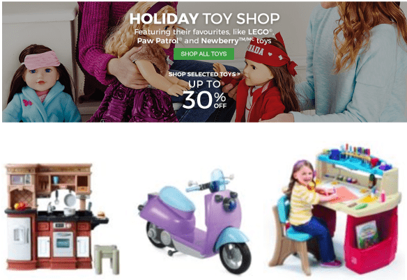 Sears Canada Offers: Save uUp To 37% On Toys PLUS Extra $20 Off $100 or $50 Off $200 Online Orders