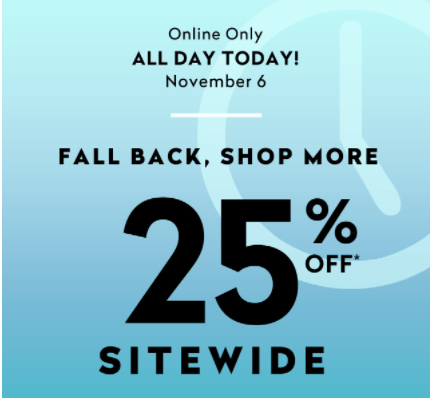 Addition Elle Canada Flash Sale: Save 25% Off Everything Sitewide with Promo Code, Today