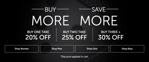 Crocs Canada Buy More Save More Sale: Save Up to 30% Off!