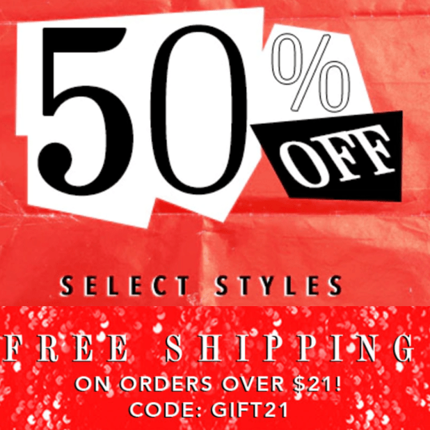 Forever 21 Canada Online Sale: Save 50% Off Select Styles + FREE Shipping On Orders Over $21 with Promo Code!