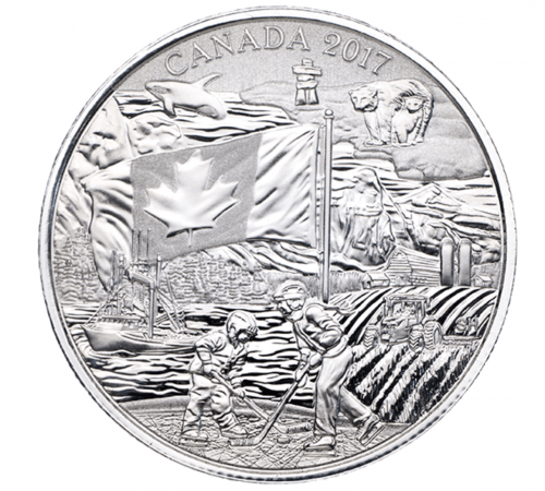 Royal Canadian Mint Deals: $19.95 Pure Silver Coin – Spirit of Canada + $25 for $25 Fine Silver Coloured Coin – Woodland Elf