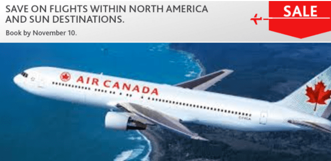 Air Canada: North America & Sun Sale: Save on Tickets/Flights within Canada, to the US & Sun Destinations!