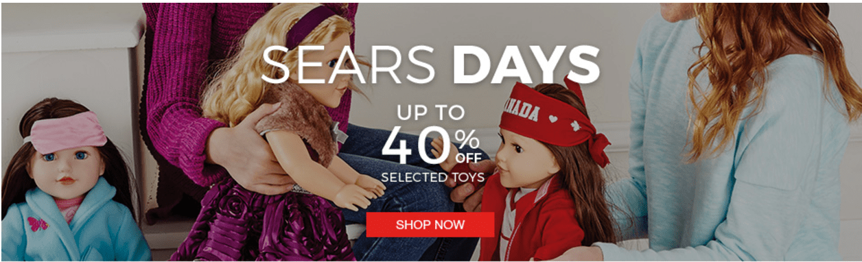 Sears Canada Days Sale: Save 42% Off  Step 2 Grand Walk-in Kitchen and Grill & More Offers