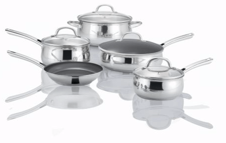 Sears Canada Holiday Offers: Save 80% Off Kenmore/MD 9pc Cookware Set Fusion Stainless Steel & More
