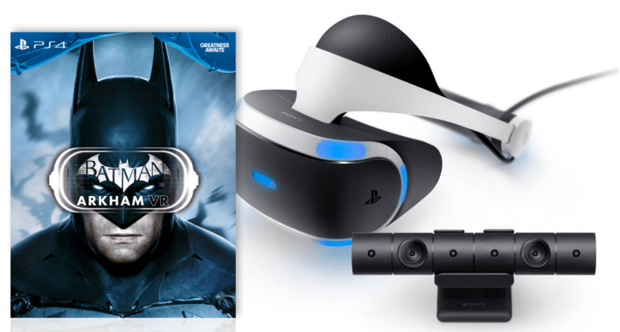 Walmart Canada Offers: Get Playstation VR Bundle: VR Headset, Refresh Camera, Batman Arkham VR For $599.96 with FREE Shipping