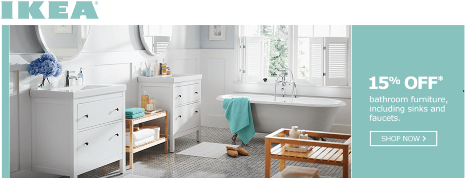 ikea canada has bathroom event sale available now the ikea canada