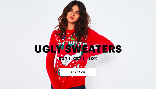 Ardene Canada Sale Buy 1 Get One 50% Off Boots + Ugly Xmas