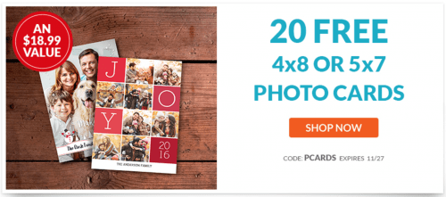 York Photo Canada Deals: FREE Custom Holiday Photo Cards + 80% Off Personalized Glass Ornaments!