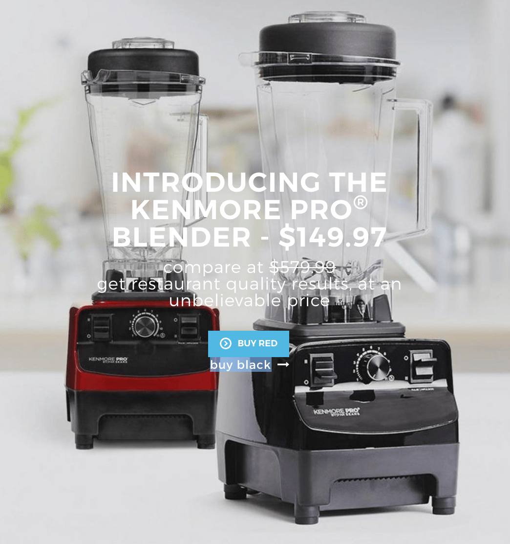 Sears Canada Deal: Get the Kenmore Pro Blender for Only $149.97!