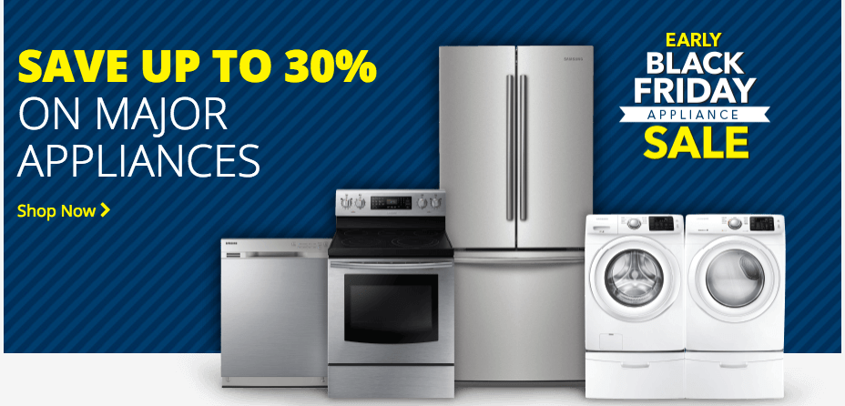 Best Buy Canada Early Black Friday Appliance Sale: Save Up to 30% on Major Appliances