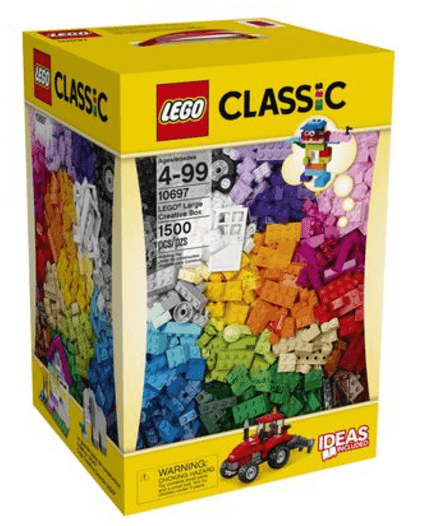 Walmart Canada Pre Black Friday Offers: Get LEGO Classic – LEGO Large Creative Box, 1500 Pieces  For $40