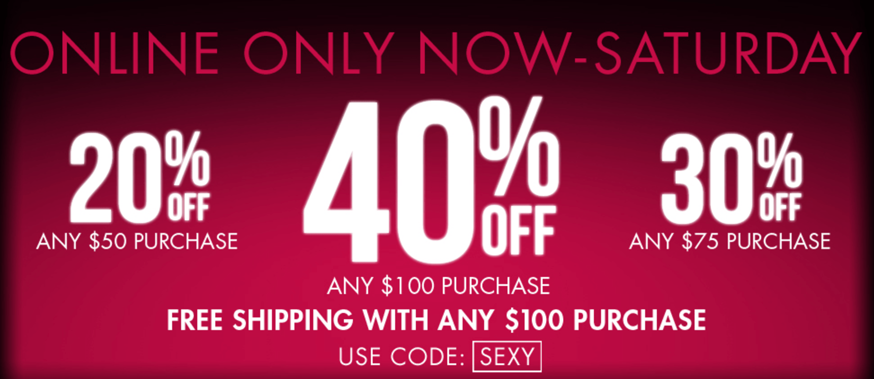 La Senza Canada Pre Black Friday Sale: Save Up to 40% Off Siteweide + Free Shipping on $100!