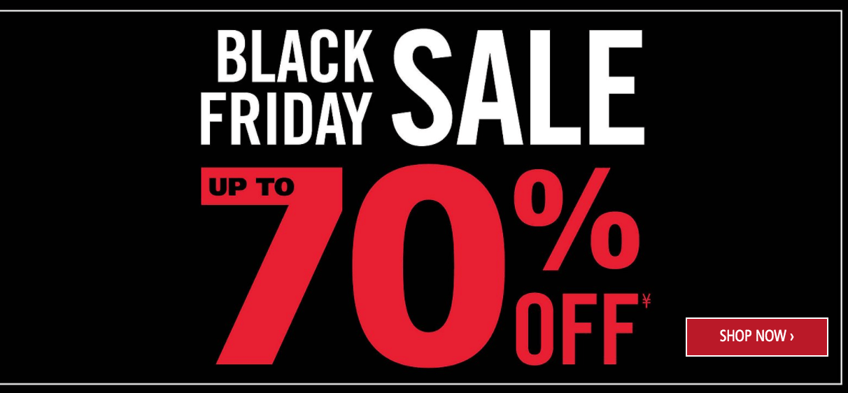 Mark's Canada Black Friday 2016 Deals: Door Crasher Deals Up to 70% Off + $19.99 Leggings & Sweaters + Buy 1, Get 1 Get 1 for 50% Off All Levi's Jeans & Shirts + More!