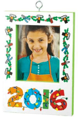 The Home Depot Canada FREE Workshops: Kids Build a Christmas Picture Frame Ornament